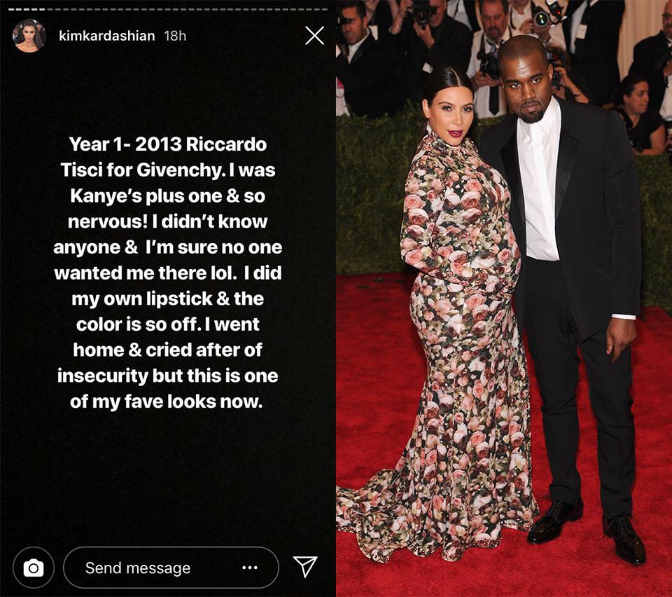 Kim Kardashian Met Gala Fashion