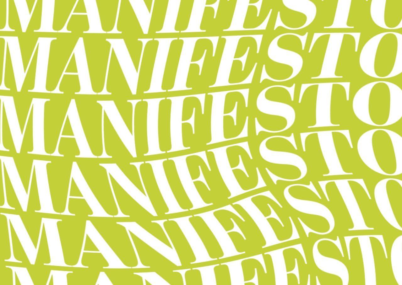 Brand Manifesto + aguileta de la garza