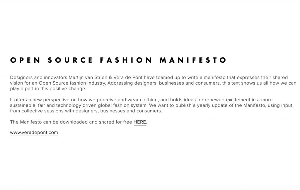 Open Source Manifesto