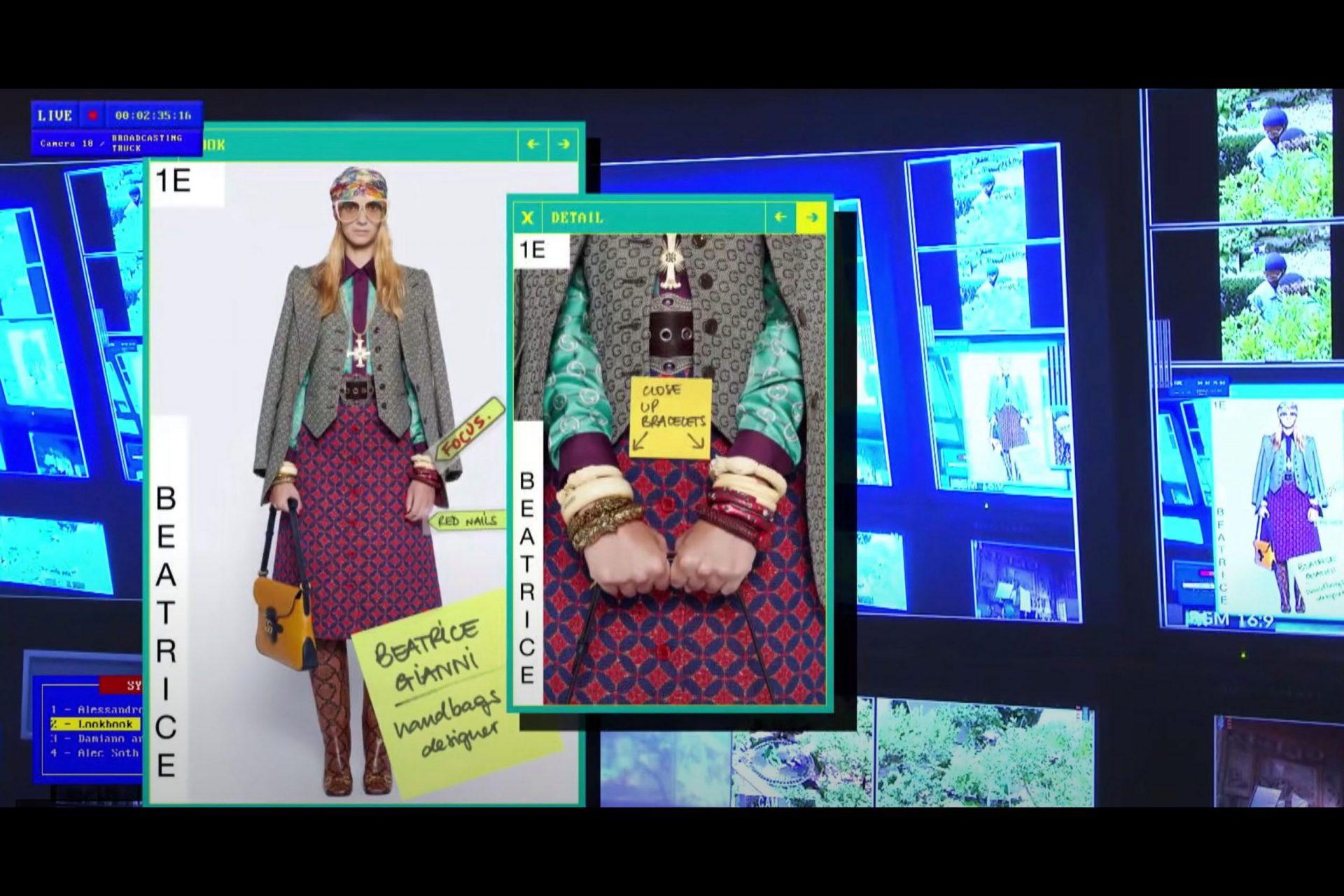 Comunicación de moda digital gucci